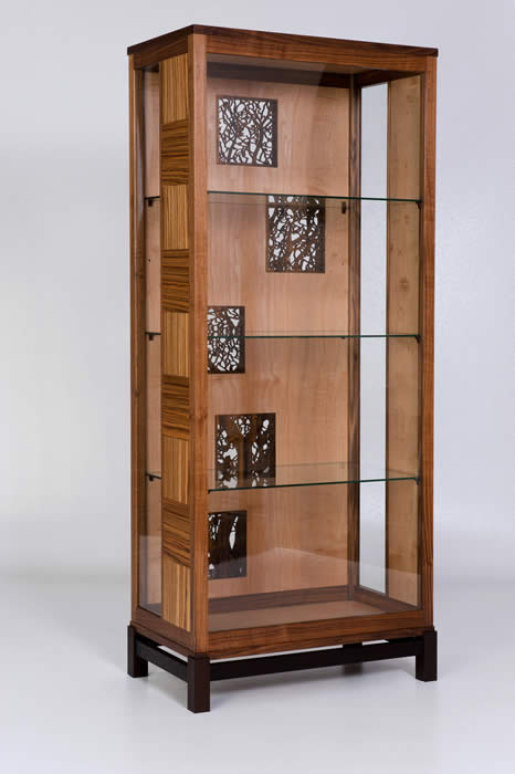 Picture of an craftsman's cabinet at the YXS Gallery