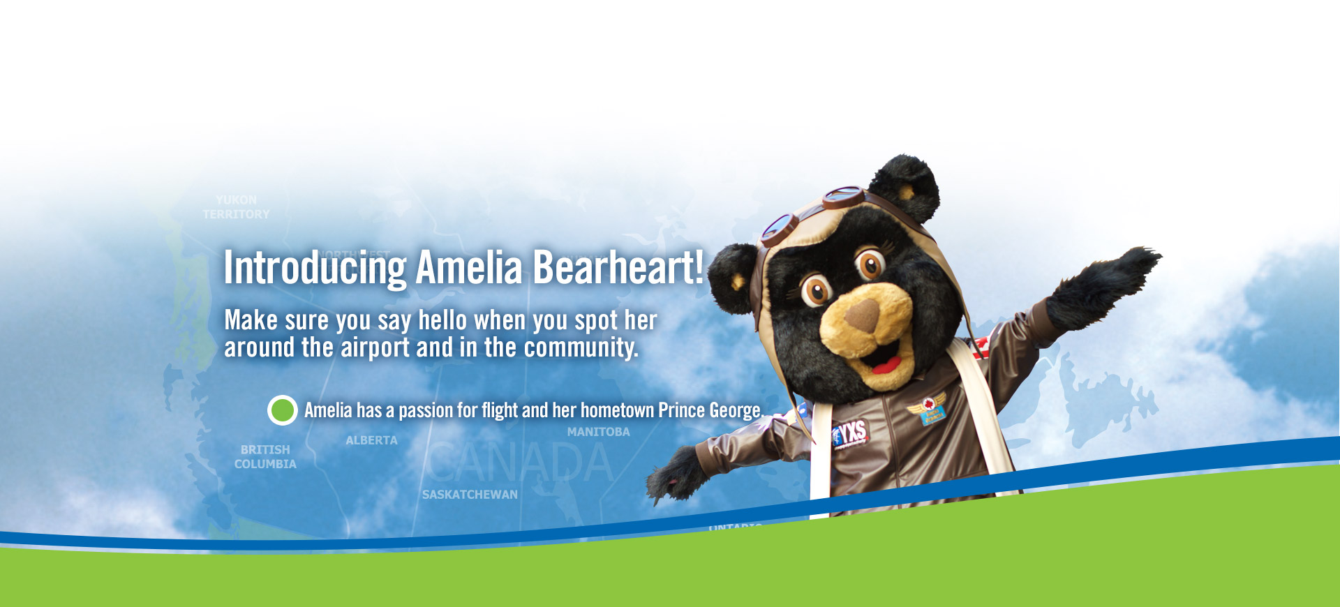 Introducing Amelia Bearheart graphic