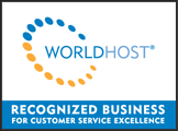 WorldHost logo