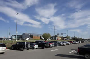 Picture of parking lot