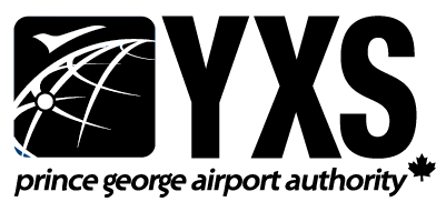 YXS black and White logo