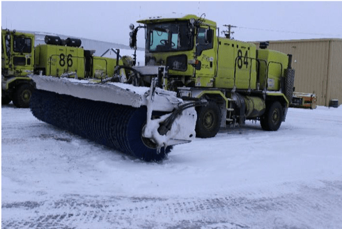Snow Sweeper Truck 84