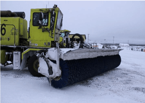 Snow Sweeper Truck 86