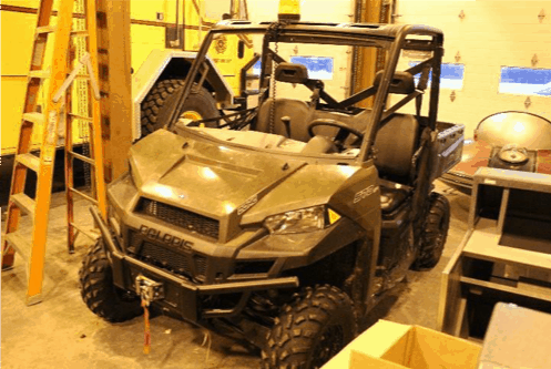 Grounds maintenance vehicle  - Polaris side-by-side